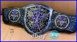 Undertaker The Phenom Title Wrestling Belt Adult Replica Championship Brass 2mm