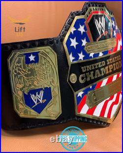 United States Championship Replica Title Belt 2014 Adult Size 2MM Brass NEW