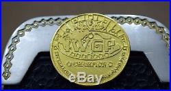 V4 IWGP Heavyweight Wrestling Zinc 4mm Championship Belt (Top Plated 3 Layer)