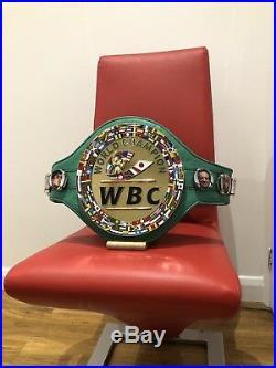 WBC Championship Boxing Belt- most accurate replica -Custom Made WBA WBO IBF