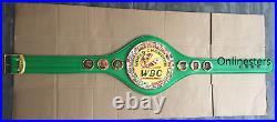 WBC World Boxing Championship belt men ADULT SIZE best quality-replica