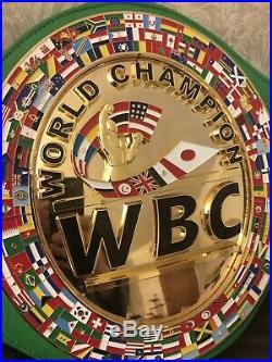 WBC World Championship Boxing Belt Replica