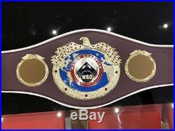 WBO Championship Boxing Belt- most accurate replica -Custom Made IBF, WBA, WBC