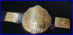 WCW Big Gold World Heavyweight Wrestling Championship Title Belt Adult Size 2MM