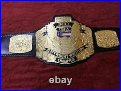 WCW United States US Championship Belt Adult Size Replica 2MM Brass Plates Title