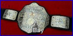 WCW WWF BIG GOLD BELT Championship Belt Adult Size