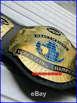 WCW World Heavyweight Wrestling Championship Belt Adult Standard Size