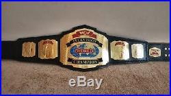 WCW World TELEVISION Wrestling Championship Belt. Adult Size