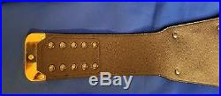 WWE Championship Title Replica belt all metal plates V2 2013