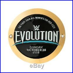 WWE Evolution 2018 Women's Championship Replica Title Belt with Evolution Plates
