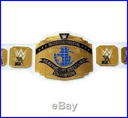 WWE Intercontinental Heavyweight Wrestling Championship Belt White Replica Adult