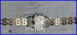 WWE Million Dollar Championship Replica Brass Title Belt Multi (Rplica)