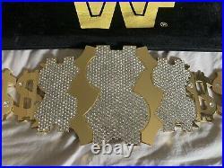 WWE Million Dollar Championship Title Belt Replica WWF Ted Dibiase Man
