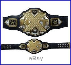 WWE NXT Wrestling Championship Belt Replica (2mm plates) Adult Size