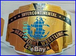 WWE New Intercontinental Championship Replica adult Title Belt (WHITE)