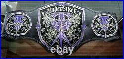 WWE THE UNDERTAKER WRESTLING CHAMPIONSHIP TITLE Belt (4mm Plates)Adult size