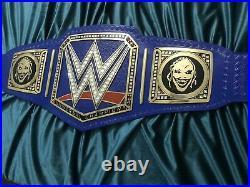 WWE Universal Championship Blue Belt Replica Title Adult Size