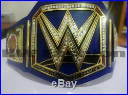 WWE Universal Championship Title Belt Adult Size Blue Handmade