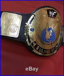 WWE WWF Attitude Era Scratch Logo BIG EAGLE World Heavyweight Championship Belt