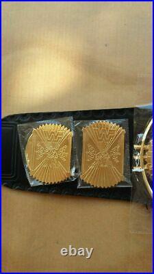 WWE/WWF Classic Gold Winged Eagle Championship Belt Brass Plated Gold Belt