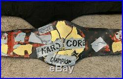WWE WWF Hardcore Championship Figures Toy Company Replica Adult Title Belt RARE