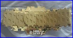 WWE WWF Million Dollar Championship Jakks Belt 32 Waist RETIRED DIBIASE HOGAN