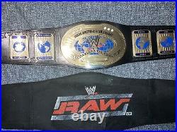 WWE/WWF Official Replica Oval Intercontinental Championship Belt Attitude Era
