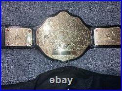 WWE/WWF/WCW Official Replica World Heavyweight Championship Big Gold Belt