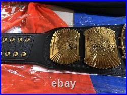 WWE Winged Eagle Championship Belt WRESTLING BELT WWF TITLE ADULT SIZE WCW