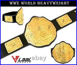 WWE World Heavyweight Big Gold Championship Wrestling Replica Belt Adult Size2mm