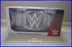 WWE World Heavyweight Championship Belt Adult Full Size Collectible Title NEW