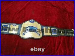 WWE World Tag Team Wrestling Championship Belt Adult Size brass plate