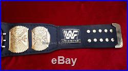 WWF 4mm Winged Eagle Wrestling Championship Adult Metal Replica Belt Free Bag
