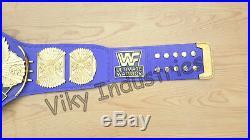 WWF 4mm Winged Eagle Wrestling ULTIMATE WARRIOR Championship Adult Replica Belt