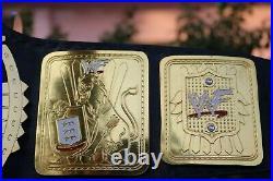 WWF Attitude Era Scratch Logo BIG EAGLE World Heavyweight Championship Belt 4mm