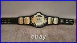 WWF Classic Gold Winged Eagle Championship Belt Adult Size. 2mm plates