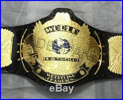 WWF Classic Gold Winged Eagle Championship Belt Adult Size 4MM FREE SHIPPING