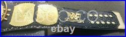 WWF Classic Gold Winged Eagle Championship Title Belt