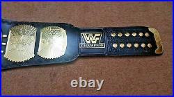 WWF Classic Gold Winged Eagle Championship Wrestling Belt Adult Size (2MM)