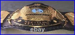 WWF Classic Gold Winged Eagle Heavyweight Championship Wrestling Belt Adult Size