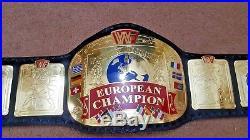 WWF European Wrestling Championship Belt. Adult Size