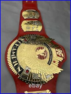 WWF Hybrid Winged Eagle Championship Belt Replica 2MM Metal Brass Plates