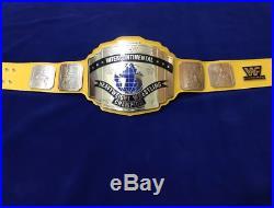WWF Replica Intercontinental Heavy Weight Championship Title Belt Adult Size