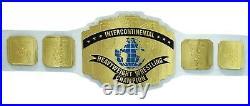 WWF Replica Intercontinental Heavy Weight Championship Title Belt Adult White