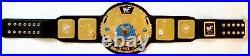 WWF Scratch Logo Attitude Era Championship Big Eagle Replica Title Belt Leather