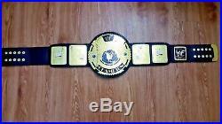 WWF Scratch Logo BIG EAGLE WRESTLING CHAMPIONSHIP BELT. ADULT SIZE