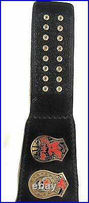WWF Stone Cold Smoking Skull Championship Replica Title Belt leather