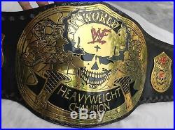 WWF Stone Cold Smoking Skull World Heavyweight Championship Belt