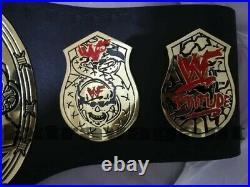 WWF Stone Cold Smoking Skull World Heavyweight Championship Wrestling Belt (2MM)