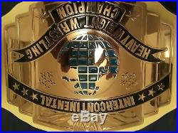 WWF Ultimate Warrior Intercontinental Championship Title Belt Adult Size